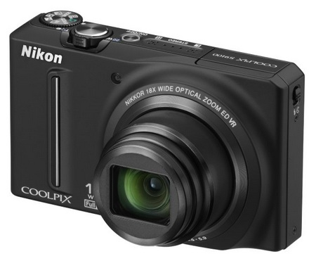 Nikon CoolPix S9100 Pocketable 18x Zoom Camera black