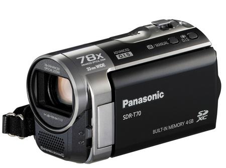 Panasonic SDR-T70 Standard Definition Camcorder