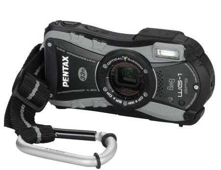 Pentax Optio WG-1 GPS Rugged digital camera black