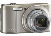 Ricoh CX4 Digital Camera with Subject-tracking AF silver