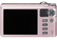 Ricoh CX5 Digital Camera with Hybrid AF System and 10.7x Optical Zoom back