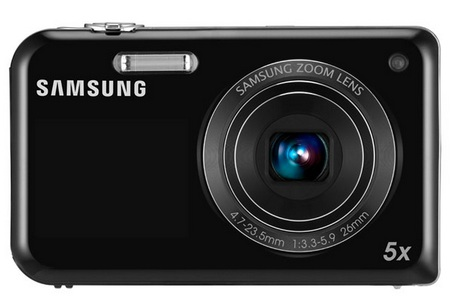 Samsung DualView PL170 dual screen camera