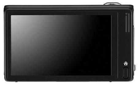 Samsung WB210 Slim Long Zoom Camera back