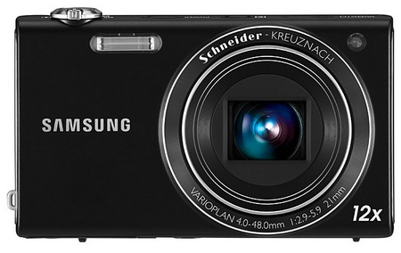 Samsung WB210 Slim Long Zoom Camera front