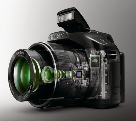 Sony Cyber-shot DSC-HX100V 30x optical zoom camera 1