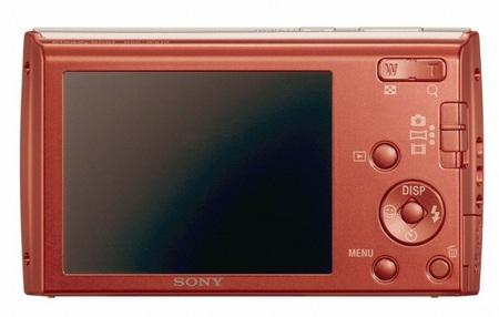 Sony Cyber-shot DSC-W510 digital camera back