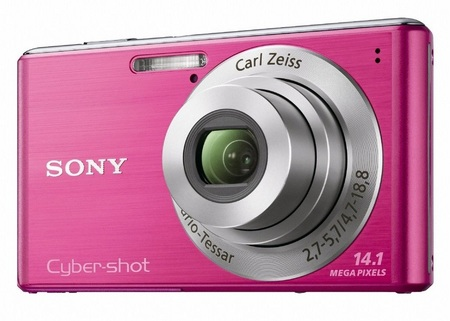 Sony Cyber-shot DSC-W530 digital camera pink