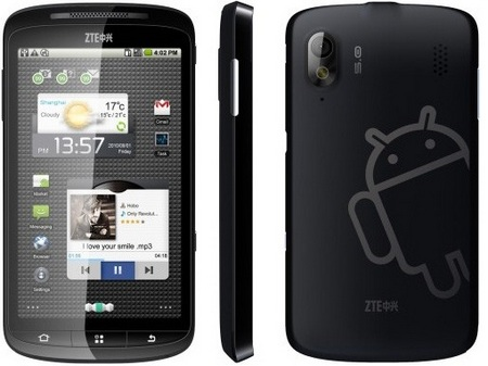 ZTE Skate 4.3-inch Android Phone