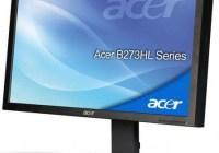 Acer B243HLCOymdr and B273HLOymidh Full HD LED-backlot Displays