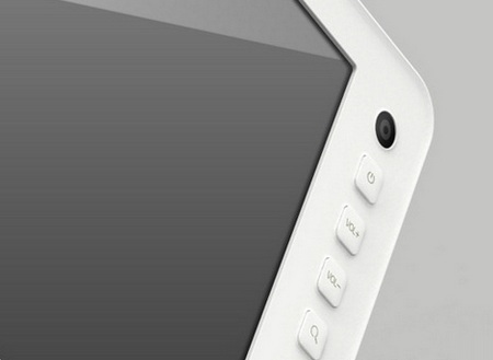 Ainol Cortex-A9 Android 3.0 Tablet Leaked Shots front button and cam