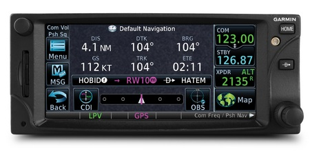 Garmin GTN 650 series Touchscreen Avionics Device