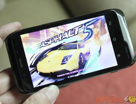 K-Touch W700 Tegra 2 Android Phone from China gaming