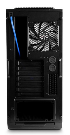 NZXT H2 Classic Silent Midtower Chassis back
