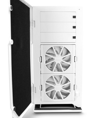 NZXT H2 Classic Silent Midtower Chassis front open