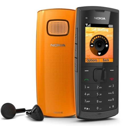 Nokia X1-00 Budget Music Phone with a Large Speaker