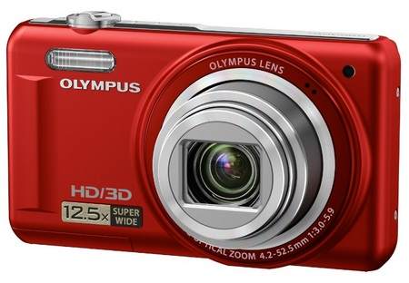 Olympus VR-330 Compact 12.5x Zoom Camera