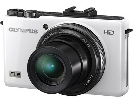 Olympus XZ-1 High-end Compact Digital Camera white