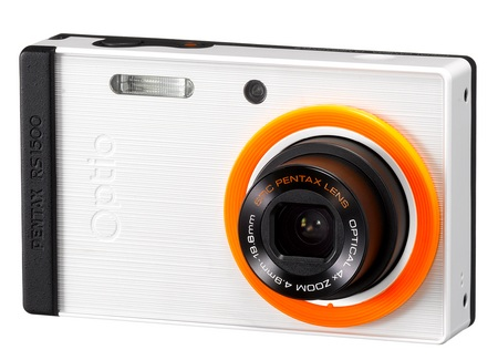Pentax Optio RS1500 Customizable Camera white