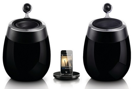 Philips Fidelio SoundSphere Docking Speaker with AirPlay Support