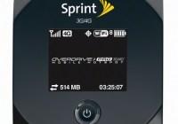 Sierra Wireless OverDrive Pro 3G 4G Mobile Hotspot
