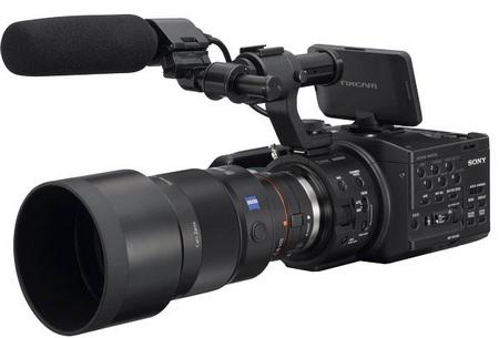 Sony NXCAM HD NEX-FS100 Super 35mm Full HD Camcorder