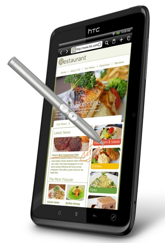 Sprint HTC EVO View 4G Android Tablet stylus