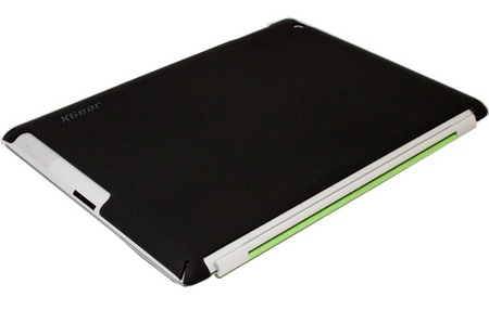 XGearLive Smart Cover Enhancer Snap On Case for iPad 2 1