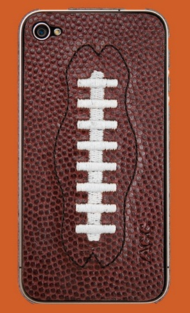 ZAGG sportLEATHER for AT&T iPhone 4 football