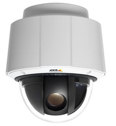 Axis Q6035 PTZ Dome Network Cameras with Full HD 1080p and 20x Zoom