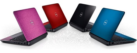 Dell Inspiron M102z Notebook powered by AMD Fusion colors
