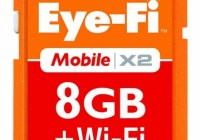 Eye-Fi Mobile X2 8GB Wireless SD Memory Card