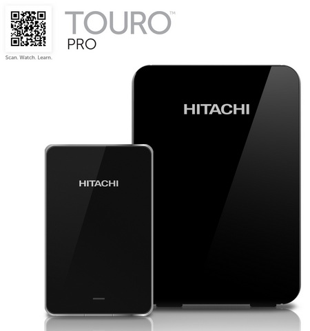 Hitachi Touro Mobile Pro and Touro Desk Pro USB 3.0 Hard Drives