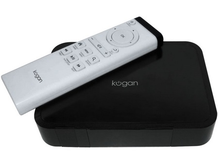Kogan Agora Internet TV Portal HD Media Player runs Android