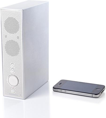 Lexon Titan LA84 Bluetooth Speaker white