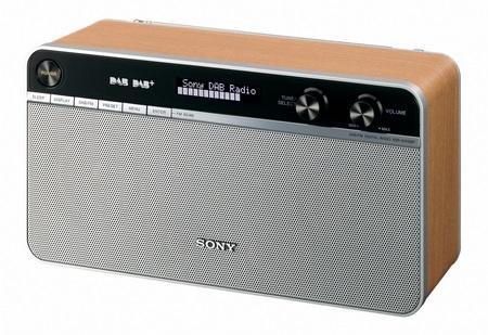 Sony XDR-S16DBP Retro-styled Portable DAB+ Radio