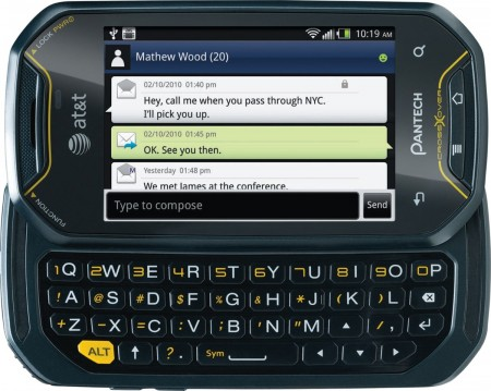 AT&T Pantech Crossover QWERTY Android Phone 1