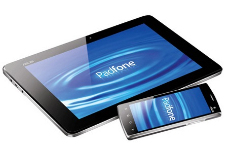 Asus Padfone combines a tablet and a smartphone 4