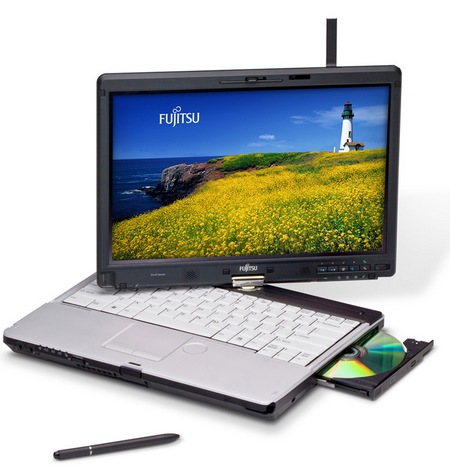 Fujitsu Lifebook T901 Sandy Bridge Tablet PC 2