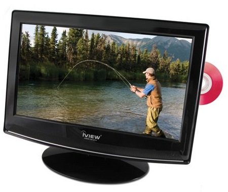 Hammacher Schlemmer LED TV with built-in DVD Player