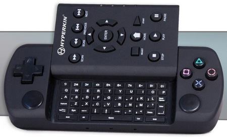 Hyperskin PS3 REMOTEXT Controller with QWERTY Keyboard and Blu-ray Control