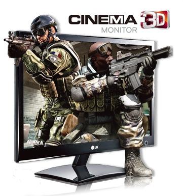 LG D2342P-PN 23-inch Cinema 3D Monitor