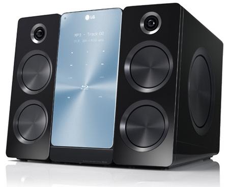 LG FX166 3D Blu-ray Micro Hi-Fi System