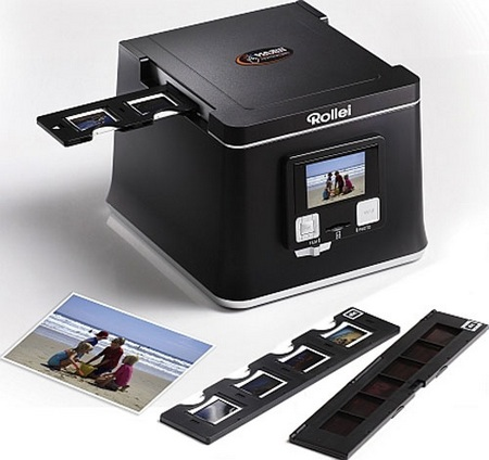 Rollei DF-S 290 HD and PDF-S 300 Pro Film .Photo Scanners