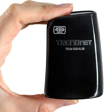 TRENDnet TEW-684UB 450Mbps Dual Band Wireless N USB Adapter