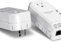 TRENDnet TPL-402E2K 500Mbps Powerline AV Adapter Kit
