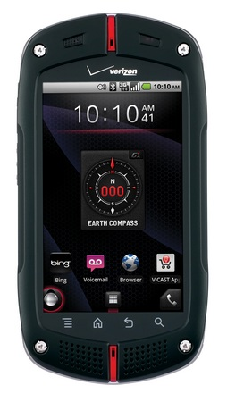 Verizon Casio G'zOne Commando Rugged Android Smartphone