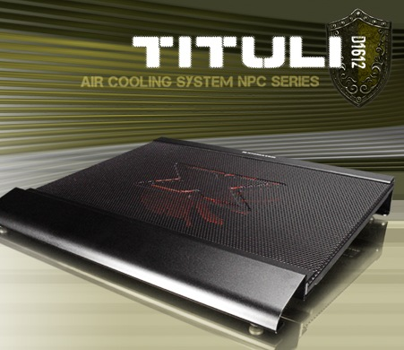 Xigmatek TITULI D1612 Notebook Cooling Pad