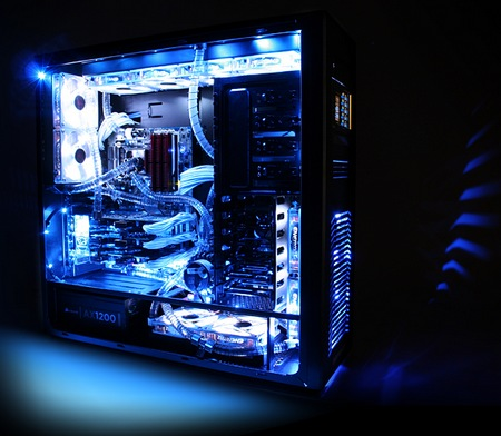 iBuyPower Erebus Liquid-cooling Gaming PC 1