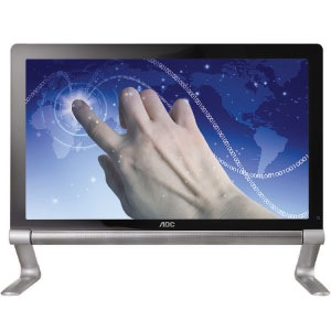 AOC Touchmate e2239Fwt Multitouch LCD Display front