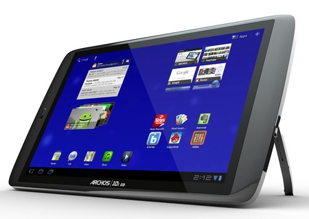 Archos 80 G9 and 101 G9 Android 3.1 Honeycomb Tablets 2